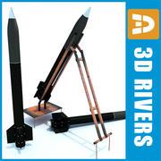 Qassam Missile 04 de 3DRivers 3d model