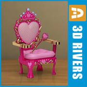 Kids chair 03 by 3DRivers 3d model