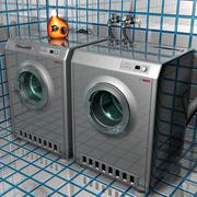 Washer & Dryer 3 3d model