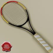 Tenis raketi 3d model