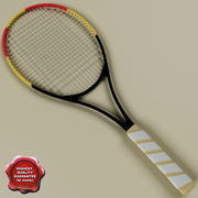Raqueta de tenis modelo 3d