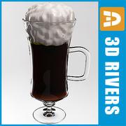 Irish coffee by 3DRivers 3d model
