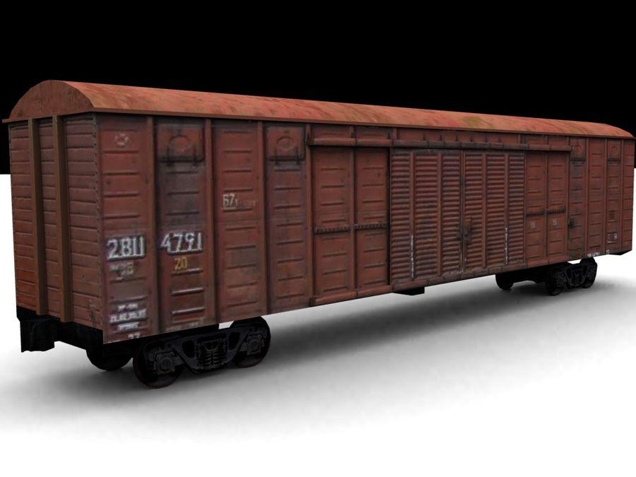 Tovarn_vagon.zip royalty-free 3d model - Preview no. 2