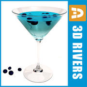 Blueberry martini by 3DRivers 3d model
