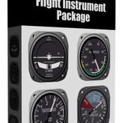 Flygplan Flight Instruments Collection # 2 3d model