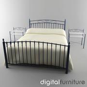 ベッド13 3d model