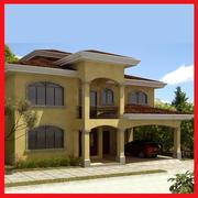 Hacienda Moderna Latina 8 3d model