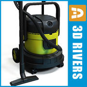 Vacuum cleaner 02 by 3DRivers 3d model