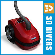 Vacuum cleaner 01 by 3DRivers 3d model