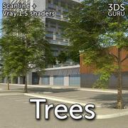 Des arbres 3d model