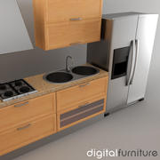 Kitchen 08 3d model