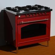 ILVE-kachel 3d model