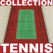 Tennis Collection 3d model