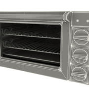 Microwave Oven Waring WCO250 3d model