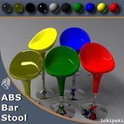 ABS Stool 3d model