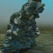 산호 대형 Rock.zip 3d model