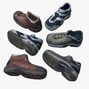 Low-res Shoes 3d model