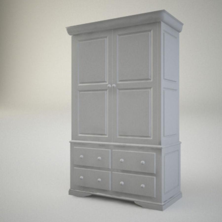 closet3.max royalty-free 3d model - Preview no. 1