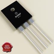 Transistor 3d model