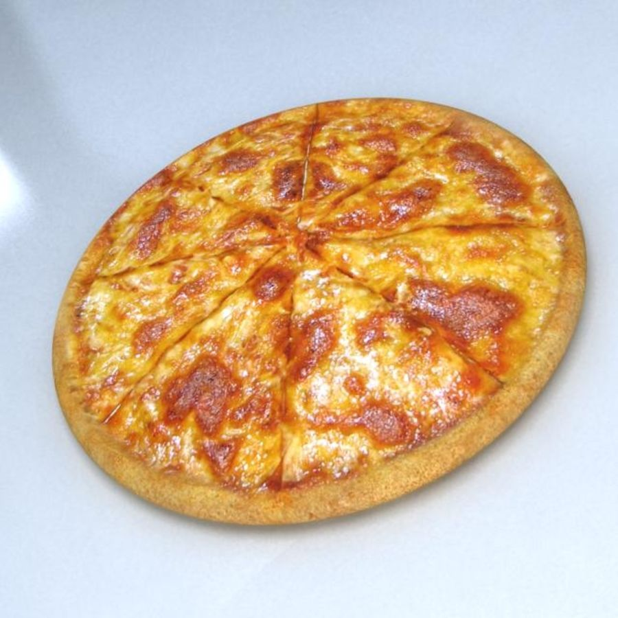 Double Cheese Pizza 3d Model 15 Max 3ds Free3d