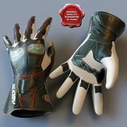 Racing Gloves 3d model