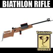 Biathlon Rifle 3d model