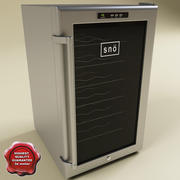 Whynter 28 Bottles Wine Cooler 3d model