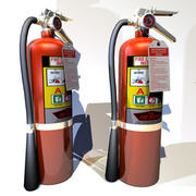 Fire Extinguisher Home 02 3d model