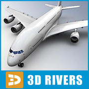 Airbus A 380 by 3DRivers 3d model