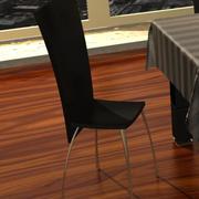 의자. 최대 3d model