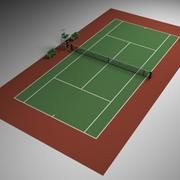 Tennis scene max.zip 3d model