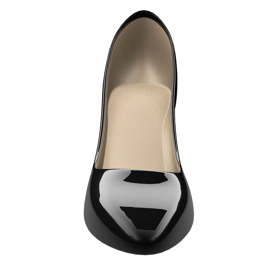 Womens Shoes (pumps) royalty-free 3d model - Preview no. 3