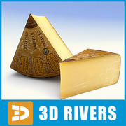 Cheese 02 by 3DRivers 3d model