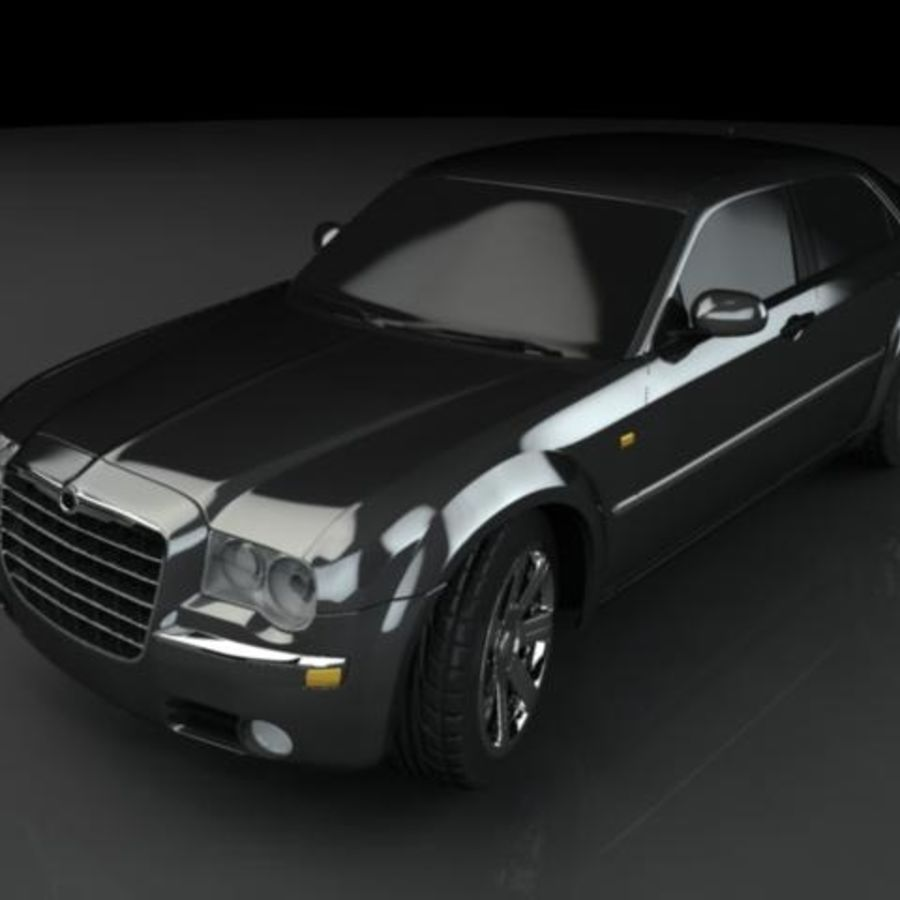 Chrysler 300C royalty-free 3d model - Preview no. 1