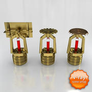 Sprinkler set 3d model