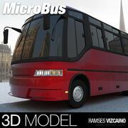 Mini BUS 3d model