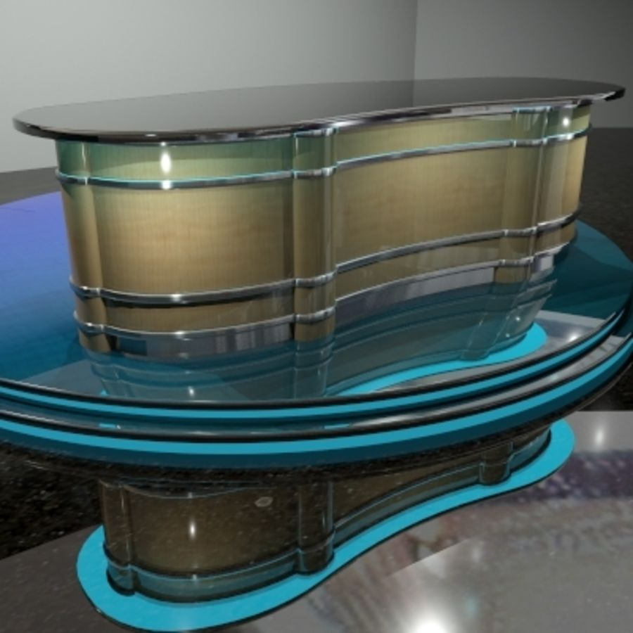 Desk.zip royalty-free 3d model - Preview no. 1