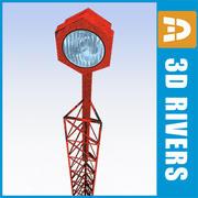 Luz da pista 03 por 3DRivers 3d model