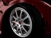 Detailed Wheel 3d model
