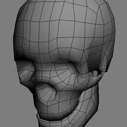 Skull_01.obj 3d model