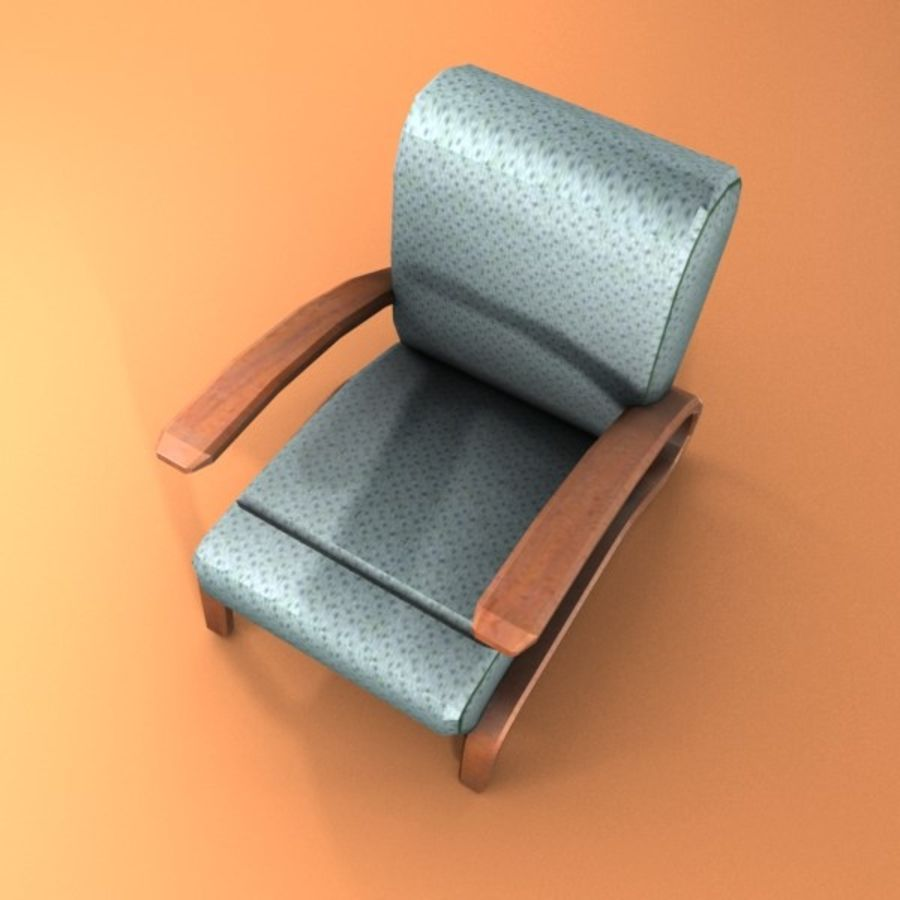 armchair.zip royalty-free 3d model - Preview no. 4