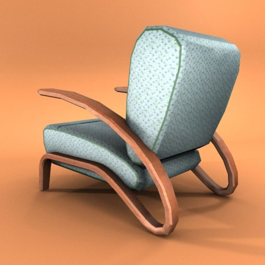armchair.zip royalty-free 3d model - Preview no. 2