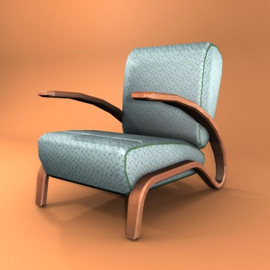 armchair.zip royalty-free 3d model - Preview no. 1