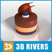 Cake 25 di 3DRivers 3d model