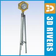 滑走路ライト01 by 3DRivers 3d model