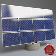 Solar battery 3d model