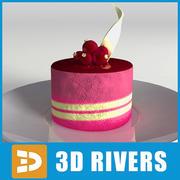 Cake 24 di 3DRivers 3d model
