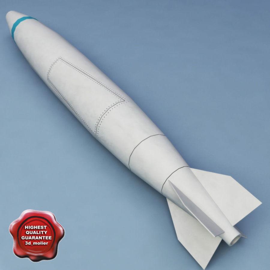 Rocket Mark 84 bomb royalty-free 3d model - Preview no. 1