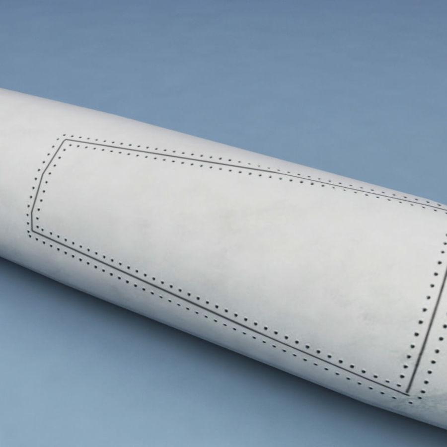 Rocket Mark 84 bomb royalty-free 3d model - Preview no. 7