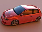 Fiat Stilo max 3d model
